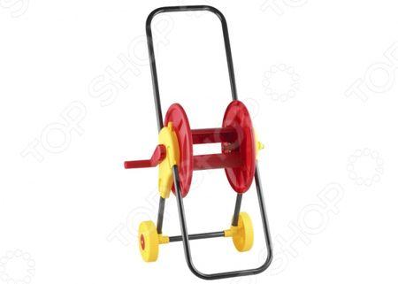 Катушка для шланга на колесах Grinda