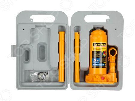 Домкрат гидравлический бутылочный Stayer Profi 43160-K