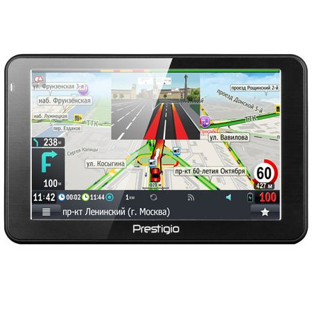 Портативный GPS-навигатор Prestigio GeoVision 5068 (PGPS5068CIS04GBPG) фото-1