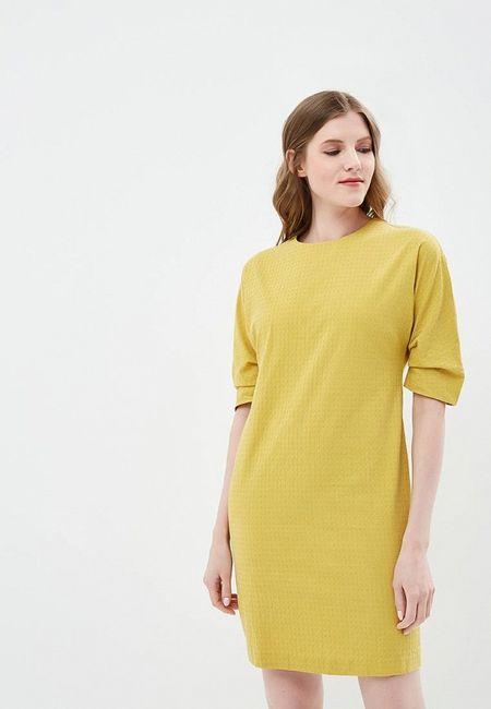18f01ffeb66 Платье Ruxara. Цвет  желтый. Сезон  Весна-лето 2018. С бесплатной доставкой  и примеркой на Lamoda.