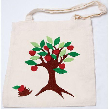e94c6744475d С его помощью девочка сможет сделать очаровательную и практичную эко-сумку  своими руками. Для создания сумки нужно отрезать кусочки уникальной ткани  stigis, ...