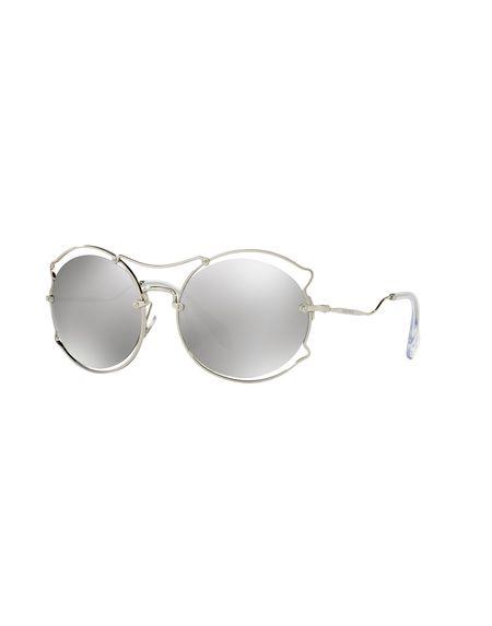 Фото MIU MIU Солнечные очки. Купить с доставкой
