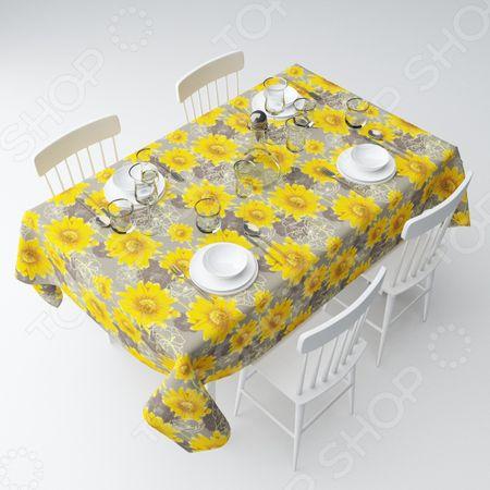 Скатерть Сирень «Желтые подсолнухи» «Желтые подсолнухи»