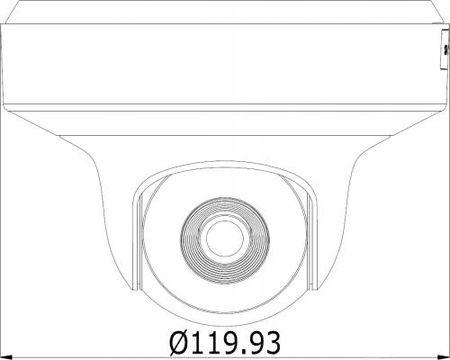 """Фото Камера IP Hikvision DS-2CD2F22FWD-IS4MM CMOS 1/2.8"""" 1920 x 1080 H.264 MJPEG RJ-45 LAN PoE белый черный. Купить в РФ"""