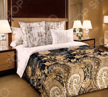 Комплект постельного белья Королевское Искушение с компаньоном «Музей» с компаньоном «Музей»