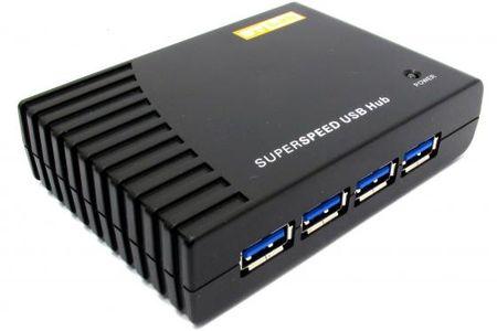Фото Концентратор USB 3.0 STlab U-540 4 х USB 3.0 черный. Купить в РФ