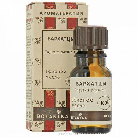 Бархатцы 10мл эфирное масло Ботаника