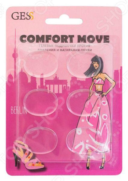 Подушечки гелевые против давления и натирания обуви Gess Comfort Move Comfort Move