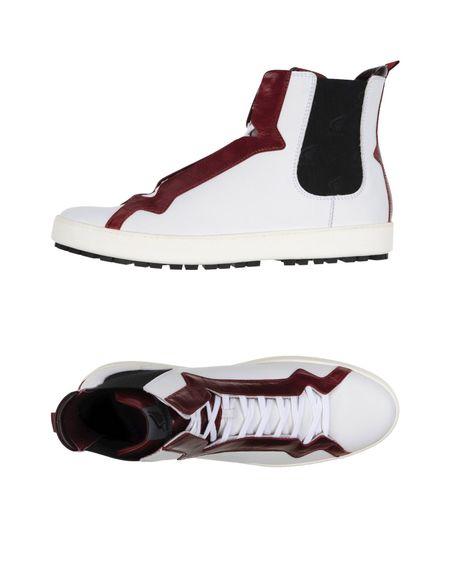 Фото HOGAN Высокие кеды и кроссовки. Купить с доставкой