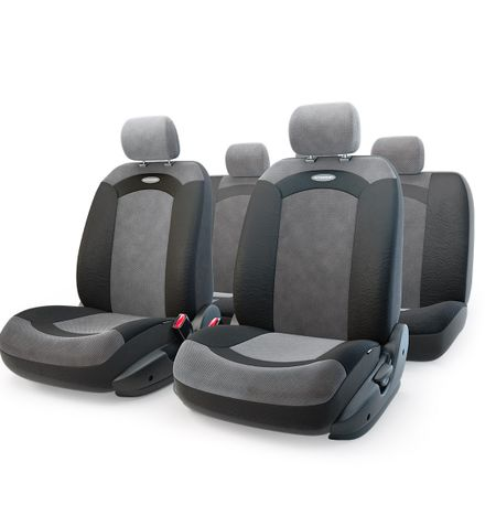 Чехол на сиденье Autoprofi Xtr-803 bk/bk (m)