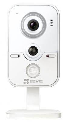 """Фото Камера IP EZVIZ C2W CMOS 1/4"""" 1280 x 720 H.264 RJ-45 LAN Wi-Fi PoE белый CS-CV100-B0-31WPFR. Купить в РФ"""