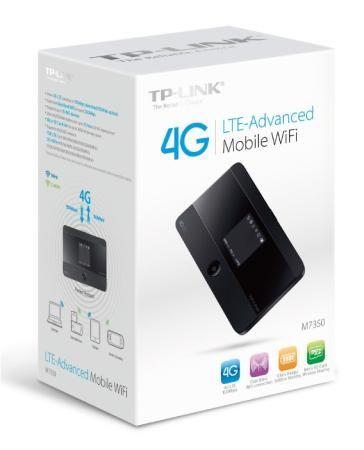 Фото Точка доступа TP-LINK M7350 802.11b/g/n 300Mbps 2.4/5ГГц. Купить в РФ