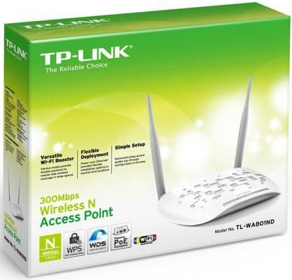 Фото Точка доступа TP-Link TL-WA801ND. Купить в РФ