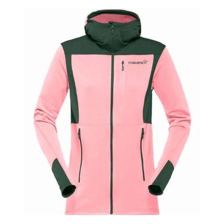 aafe0059 Женская куртка с капюшоном Norrona Falketind Warm1 Stretch Zip Hoodie -  легкая и достаточно теплая куртка из эластичного флиса.