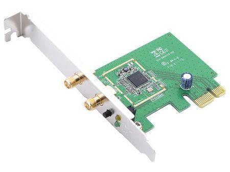 Фото Беспроводной PCI-E адаптер ASUS PCE-N15 802.11n 300Mbps 2.4ГГц 19dBm. Купить в РФ