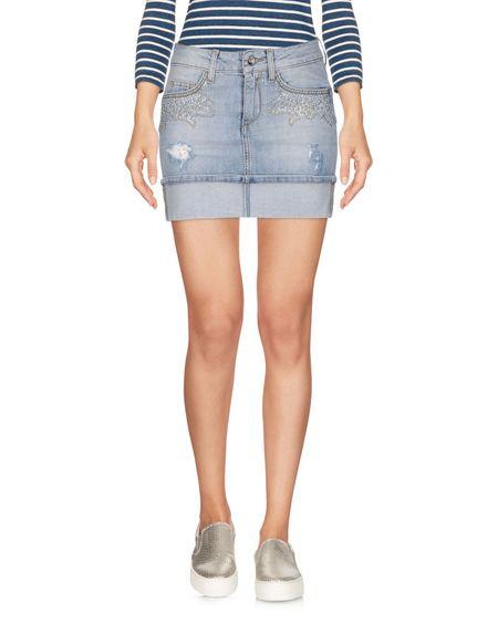 Фото LIU •JO JEANS Джинсовая юбка. Купить с доставкой