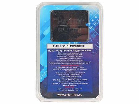 Фото Сплиттер HDMI Orient HSP0102HL 30103. Купить в РФ