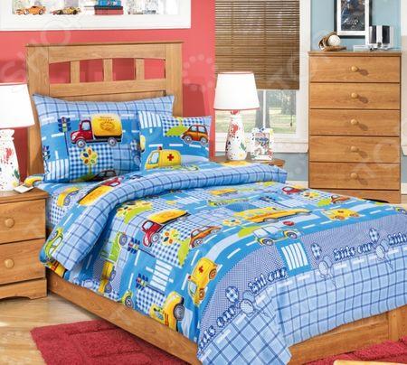 Здесь можно купить «Машинки»  Детский комплект постельного белья Бамбино «Машинки» <![CDATA[Детские комплекты постельного белья]]>