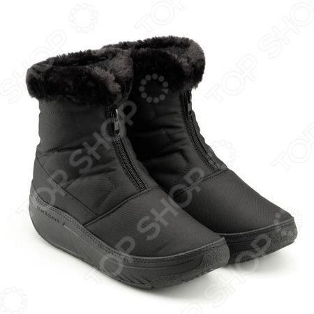 Ботинки зимние женские Walkmaxx 2.0. Цвет: черный