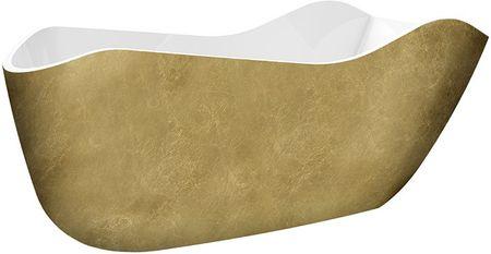 Акриловая ванна 172,5х79,5 см Lagard Teona Treasure Gold lgd-tna-tg
