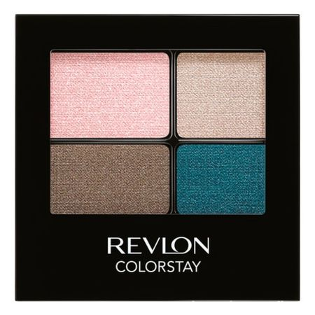 Revlon Colorstay 16Hour Eye Shadow Quad Четырехцветные тени для век  528 Passionate