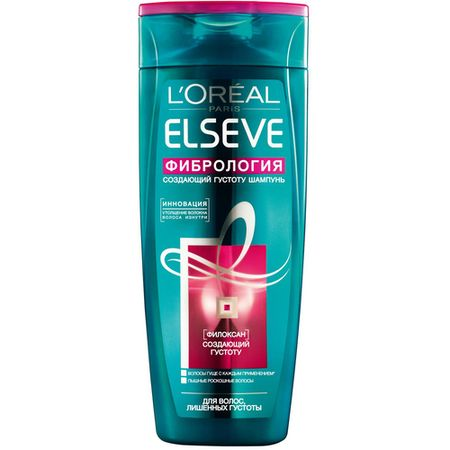 Elseve Фибрология Шампунь для волос, лишенных густоты