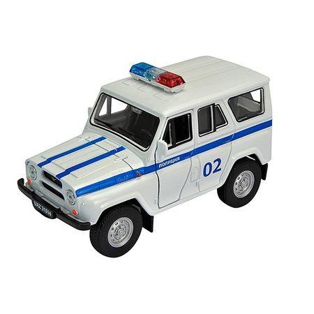 Welly 42380PB Велли Модель машины 1:34-39 УАЗ 31514 Полиция