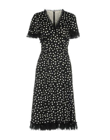 Фото DOLCE & GABBANA Платье до колена. Купить с доставкой