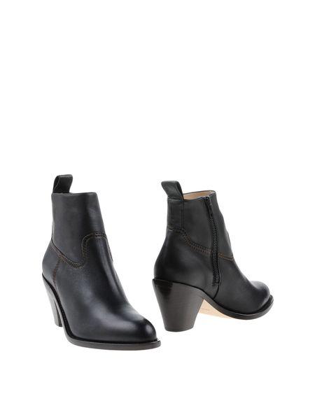 Фото HELMUT LANG Полусапоги и высокие ботинки. Купить с доставкой
