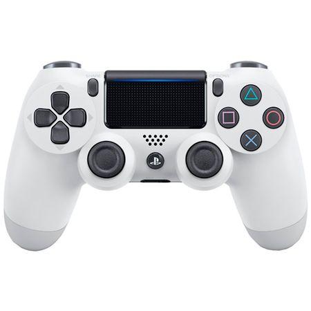 Купить Аксессуар для игровой консоли PlayStation 4 Геймпад DualShock 4 v2 White (CUH-ZCT2E)