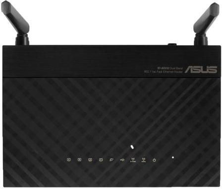 Фото Беспроводной маршрутизатор ASUS RT-AC51U 802.11aс 733Mbps 5 ГГц 2.4 ГГц 4xLAN USB черный. Купить в РФ