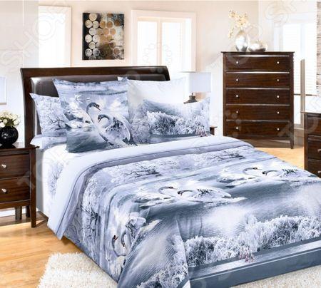 Комплект постельного белья Королевское Искушение «Лебединое озеро» «Лебединое озеро»
