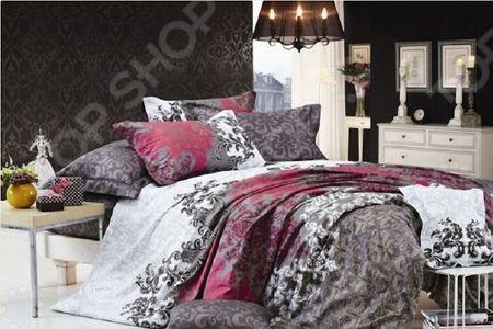Комплект постельного белья с эффектом 3D «Авиньон». 1,5-спальный