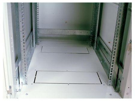 Фото Шкаф напольный 18U ЦМО ШТК-М-18.6.8-1AAA 600x800mm дверь стекло 2 коробки. Купить в РФ