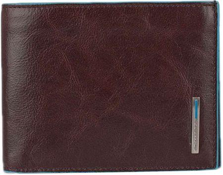 72091463c8e9 Кошельки бумажники и портмоне Piquadro PU1239B2R/MO. Blue Square.
