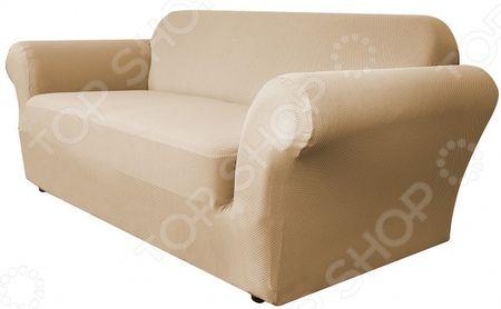 Здесь можно купить «Бирмингем»  Натяжной чехол на двухместный диван Медежда «Бирмингем»