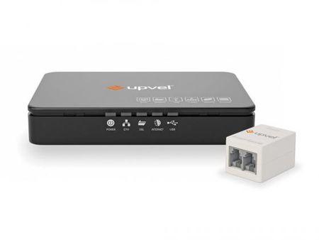 Фото Модем ADSL UPVEL UR-101AU 1xLAN USB с поддержкой IP-TV. Купить в РФ