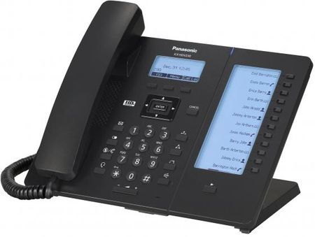 Фото Телефон IP Panasonic KX-HDV230RUB черный. Купить в РФ