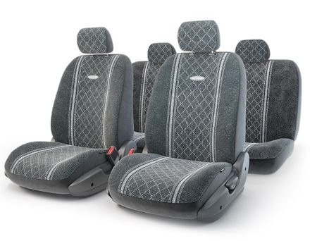 Чехол на сиденье Autoprofi Gob-1105 gy/romb (m)