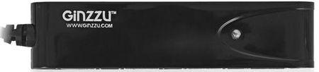 Фото Концентратор USB 2.0 GINZZU GR-424UB 4 x USB 2.0 черный. Купить в РФ