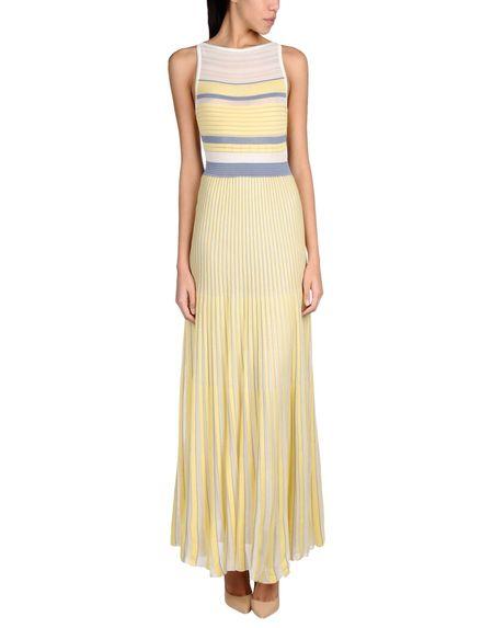 Фото GENTRYPORTOFINO Длинное платье. Купить с доставкой