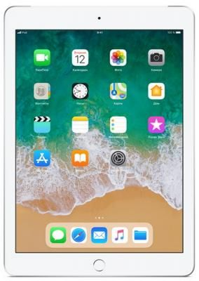 "Планшет Apple iPad 9.7"" 32Gb Silver Wi-Fi Bluetooth iOS MR7G2RU/A фото 0"