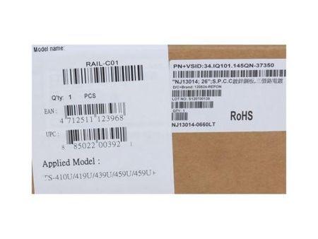 Фото Направляющие для сетевого хранилища Qnap RAIL-C01 для TS-469U-RP, TS-469U-SP, TS-459U, TS-419U II, TS-412U, TS-410U. Купить в РФ
