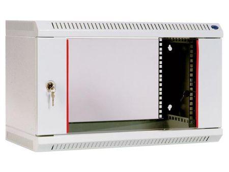 Фото Шкаф настенный 6U ЦМО ШРН-6.480 600х480mm дверь стекло. Купить в РФ