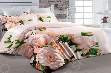 Здесь можно купить «Притяжение»  Комплект постельного белья ТамиТекс «Притяжение» <![CDATA[1,5-спальные]]>