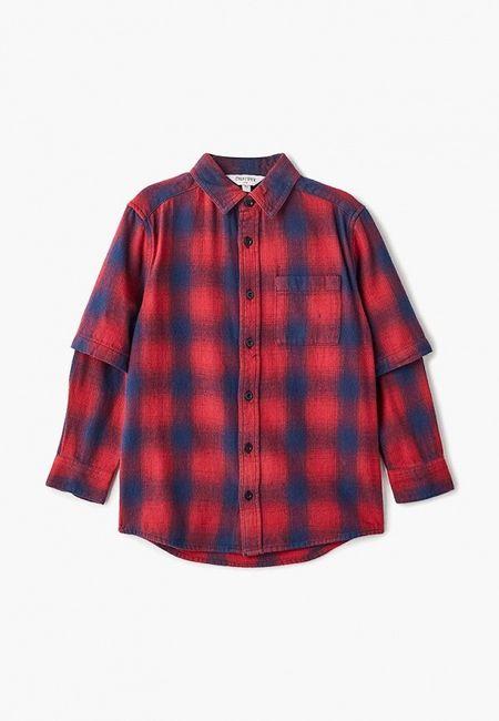 3e9bfcbaa15 Рубашка Outfit Kids. Цвет  бордовый. Сезон  Осень-зима 2018 2019. С  бесплатной доставкой и примеркой на Lamoda.