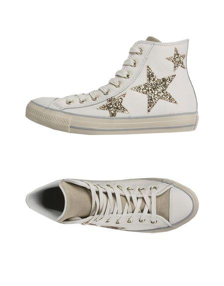 Фото CONVERSE ALL STAR Высокие кеды и кроссовки. Купить с доставкой