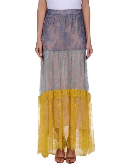 Фото PHILOSOPHY di LORENZO SERAFINI Длинная юбка. Купить с доставкой