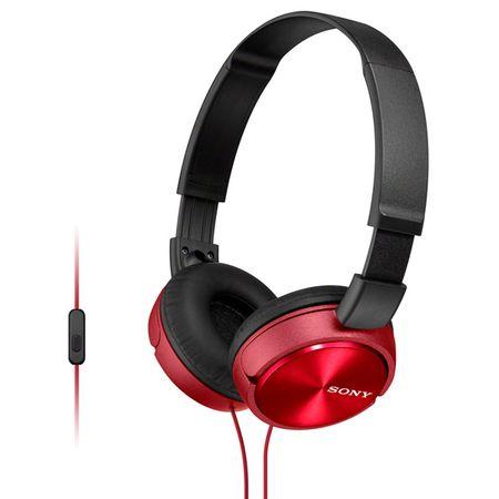 Купить Наушники накладные Sony MDR-ZX310AP Red