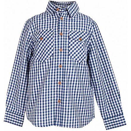 e9d5d576df0 Рубашка для мальчика BUTTON BLUE Клетчатая рубашка - яркий акцент  повседневного образа ребенка. Купить рубашку для мальчика стоит ранней  весной